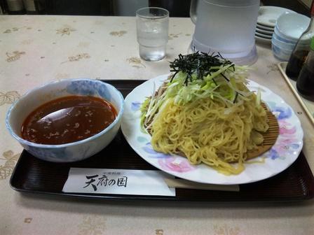 100526中華料理天府の国【葱豚つけ麺】1.jpg